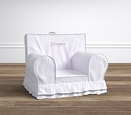 Lavender Luxe Ruffle Anywhere Chair®