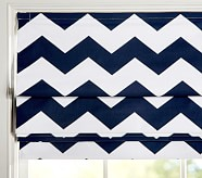 Chevron Roman Shade, 26 x 64