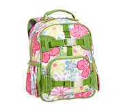 Mackenzie Pink Hibiscus Mini Backpack