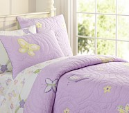 Lindsey Quilt, Twin, Lavender