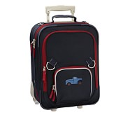 Fairfax Navy/Red Small Luggage , Truck