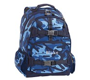 Navy Camo Large Backpack