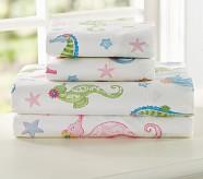 Seahorse Sheet Set, Twin