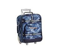 Small Luggage, Mackenzie Navy Shark Camo