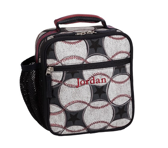 Classic Lunch Bag, Mackenzie Blue Baseball