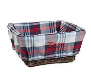 Plaid Liner, Medium, Navy/Red Plaid