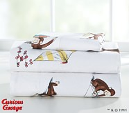 Curious George™ Toddler Sheeting