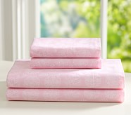 Nora Extra Pillowcase, Pink