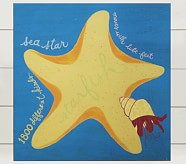 Starfish Surf Plaque