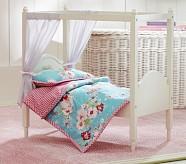 Lakehouse Print Doll Bedding