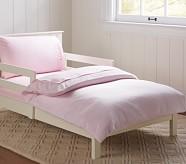 Chamois Toddler Duvet Cover, Light Pink