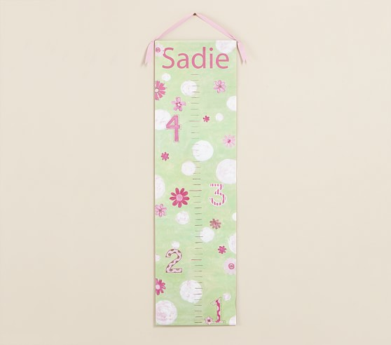 Personalized Flower Dot Growth Chart