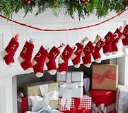 Knit Garland Advent Calendar