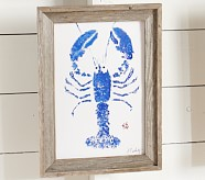 Blue Lobster Art
