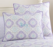 Tory Standard Quilted Sham, Lavender