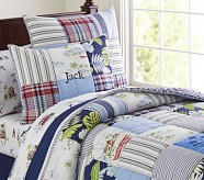 Key West Quilt, Twin, Navy