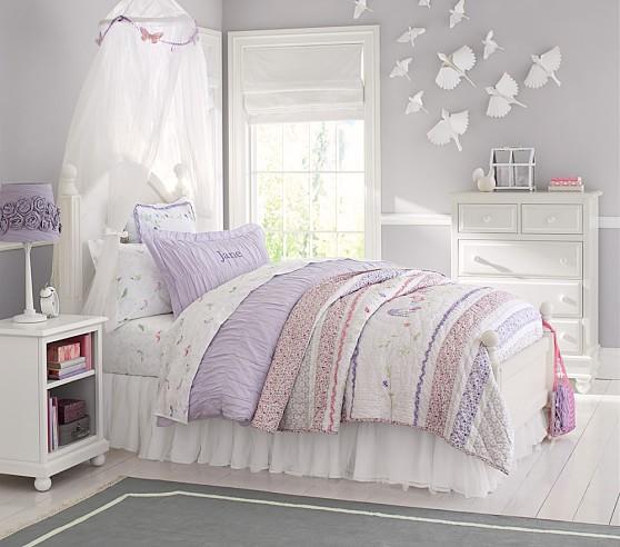 Anderson Bed & Luxury Firm Mattress Set, Twin, Simply White, Plush Mattress
