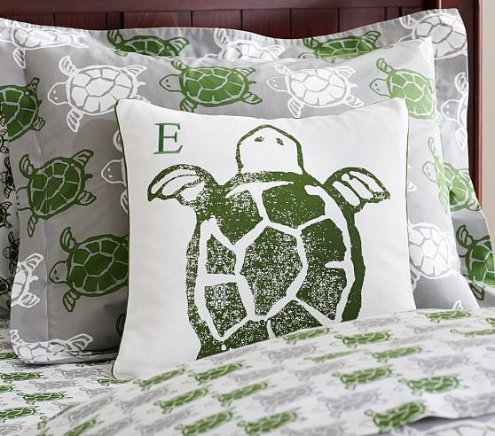 St. Tropez Decorative Sham, Turtle