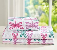 Dragonfly Extra Pillowcase, Bright Pink