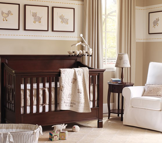 Sweet Lambie Nursery Bumper Bedding Set