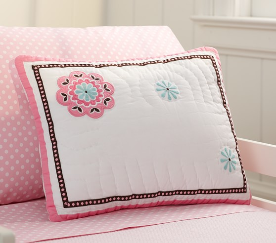 Petite Paisley Toddler Quilted Sham