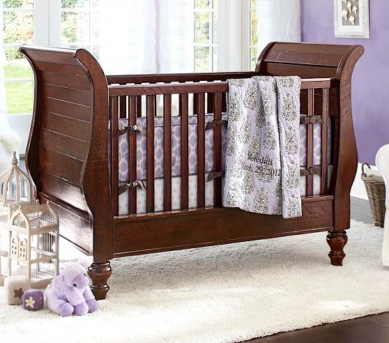 Meredith Nursery Bedding Set: Crib Fitted Sheet, Toddler Quilt & Crib Skirt