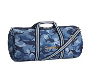 Duffle Bag, Mackenzie Navy Shark Camo