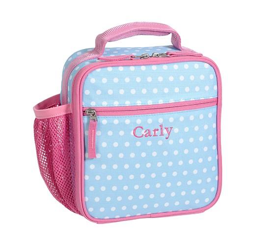 Mackenzie Aqua Dot Classic Lunch Bag