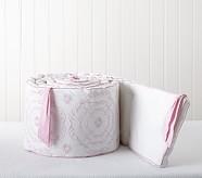 Veronica Nursery Bumper, Pink