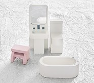 Dollhouse Bathroom Set