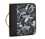 3-Ring Binder, Mackenzie Gray Shark Camo