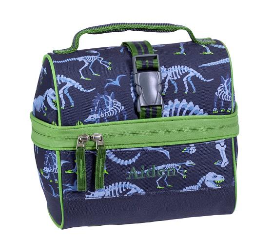 Retro Lunch Bag, Mackenzie Blue Dino
