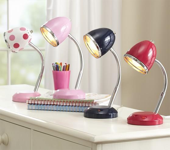 Color Study Task Lamp, Multi Dot