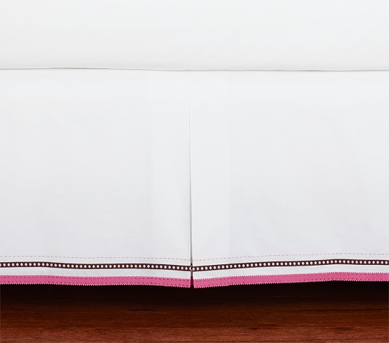 Petite Paisley Crib Skirt