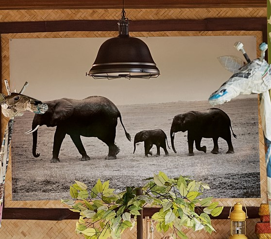 Safari Wall Mural Canvas