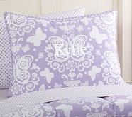 Loft Butterfly Standard Quilted Sham, Lavender