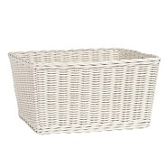 Sabrina Basket, XL, Simply White