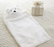 Ivory Bear Doll Sleeping Bag
