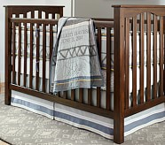 Elliot Nursery Quilt Bedding Set: Toddler Quilt, Crib Skirt & Crib Fitted Sheet
