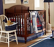 Regatta Nursery Bedding Set: Crib Fitted Sheet, Toddler Quilt & Crib Skirt