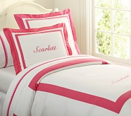 Classic Duvet Cover, Twin, Bright Pink