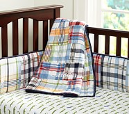 Alligator Madras Nursery Bumper Bedding Set