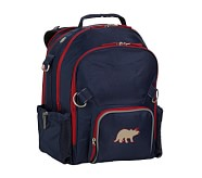 Fairfax Navy/Red Large Backpack, Dino