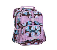 Mackenzie Lavender Butterfly Preschool Backpack