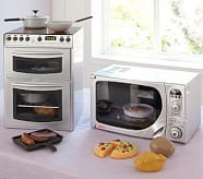 Chrome Mini Kitchen Appliances, Tabletop Oven