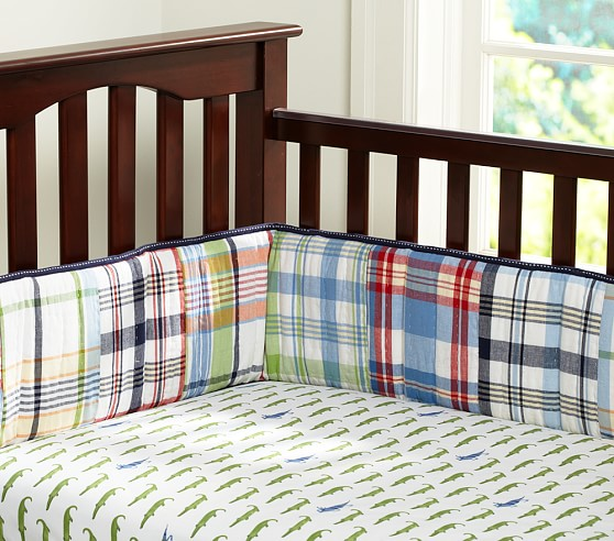 Gator Crib Fitted Sheet