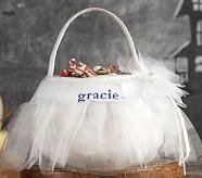 White Tulle Treat Bag