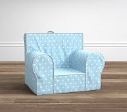 Light Blue Heart Anywhere Chair®