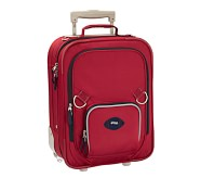 Fairfax Red/Navy Small Luggage, Football