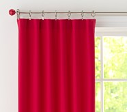 "Twill Panel, 44 x 63"", Red"